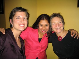 Zoe & I with Katie Paine at the 2008 PRSA Conference in Detroit
