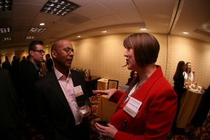 John Clemons, ABC, APR, and Angela Sinickas, IABC Fellow
