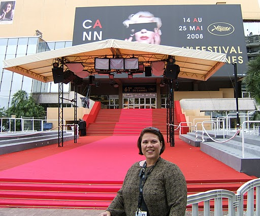 Donna at Cannes