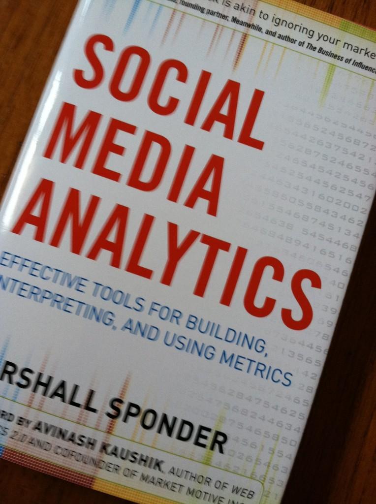 Social Media Analytics by Marshall Sponder