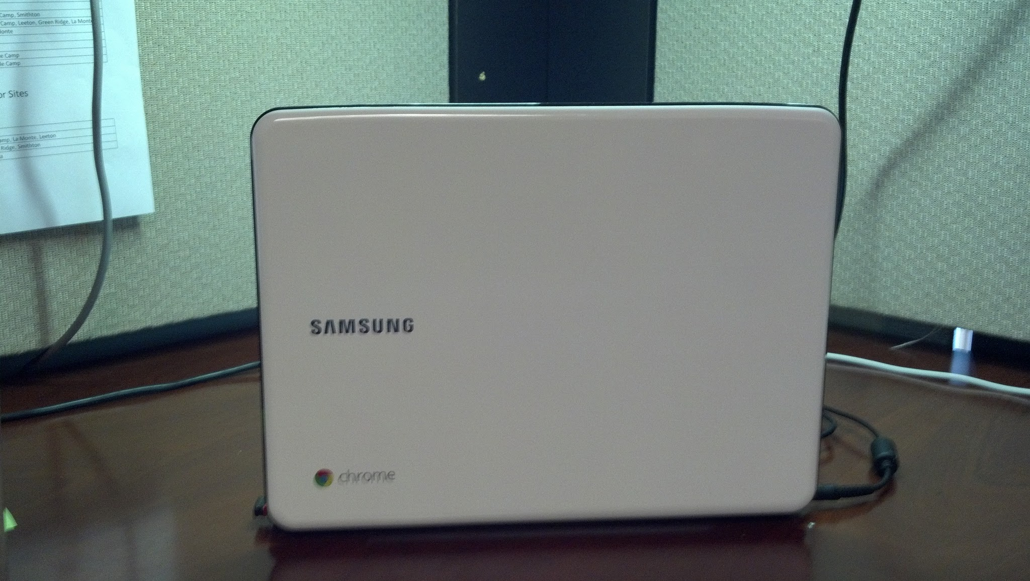 I selected the Artic White Chromebook. Because I