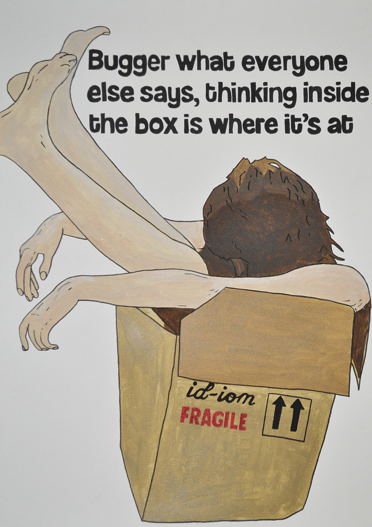 "do you need to think ""outside the box""?"