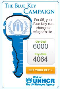 the Blue Key widget counter on Nov. 18, 2011