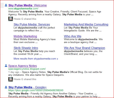 Sky Pulse Media in Google Plus