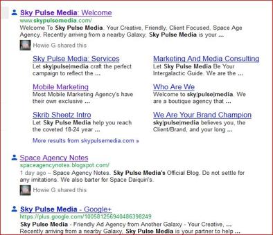 Sky Pulse Media in Google Plus