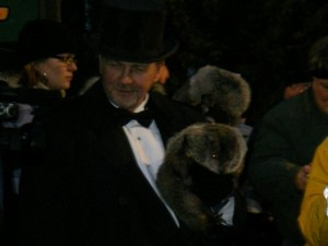Phil the Groundhog isn't exactly a PR professional when it comes to messaging to the press.