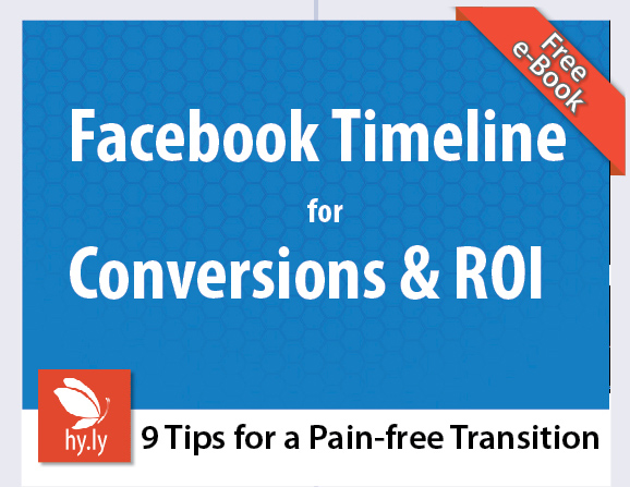Hy.ly's free eBook on Facebook Timeline for Business Pages