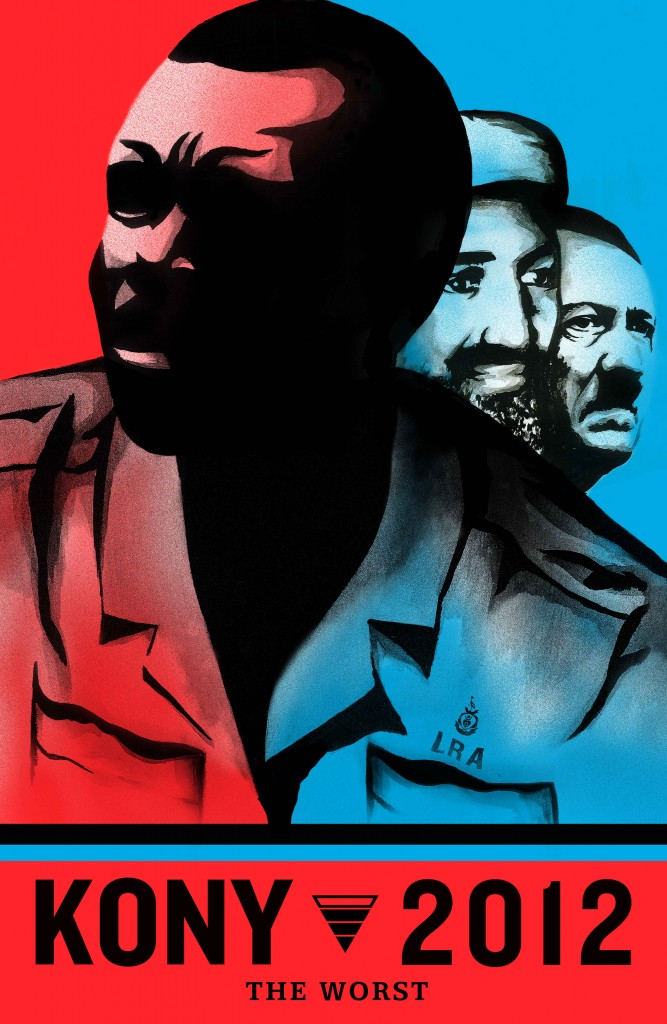 Invisible Children's downloadable Stop Kony poster