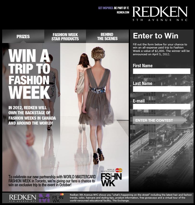 Redken Contest