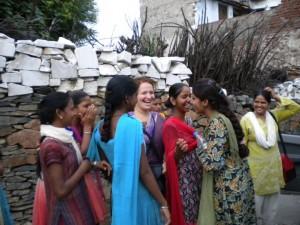 Zoe Fox in India