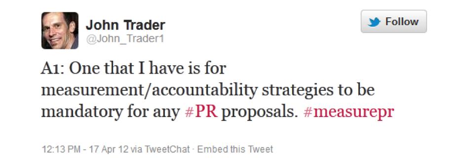 @John_Trader1 on #measurePR Apr 17, 2012