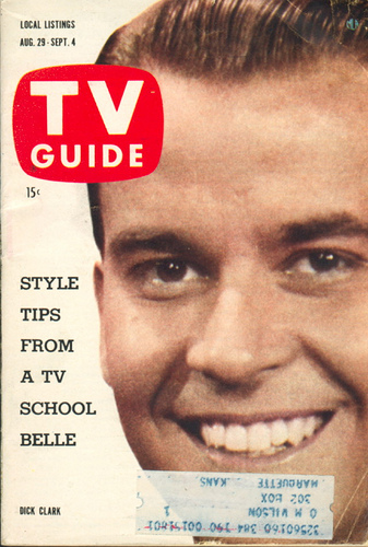 Dick Clark was the face of American Bandstand