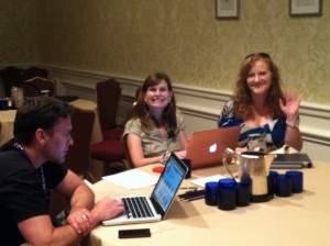 Derek, Gini & Johna at Counselors Academy