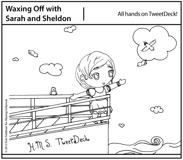 Toon Time: All Hands on [Tweet]Deck