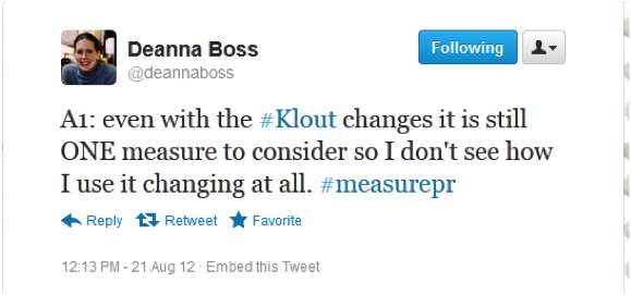 Deanna Boss at #measurePR