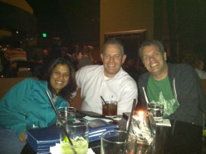 Shonali with Chris Kemper and Kevin Dugan