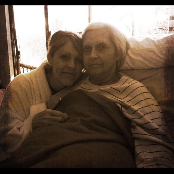 Jennifer with her mom Leslie