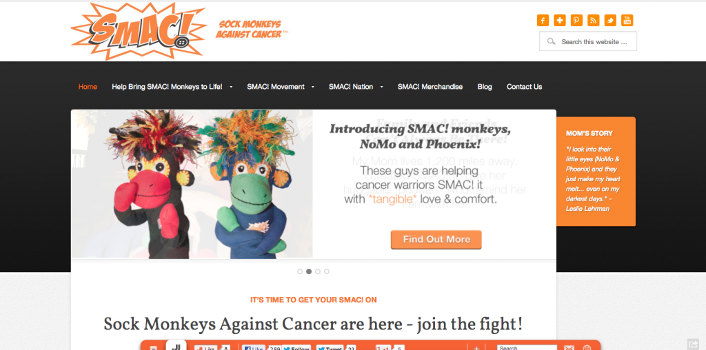 Sock Monkeys Against Cancer - SMAC