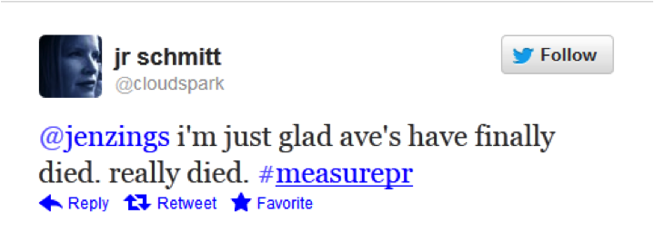 #measurePR Oct. 16 - @cloudspark