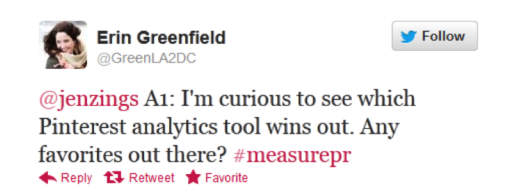 #measurePR on Oct. 16 - Erin Greenfield