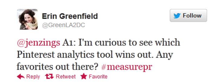 #measurePR on Oct. 16 - Erin Greenfield