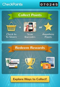 Check Points app screenshot