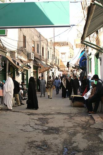 Streets of Libya