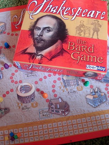 a Shakespeare board game