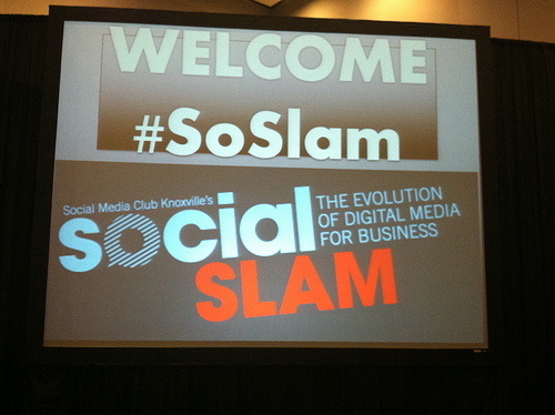 Social Slam 2013 Welcome Slide