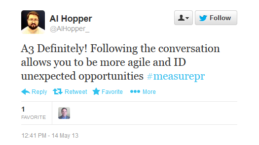 Al Hopper Comment