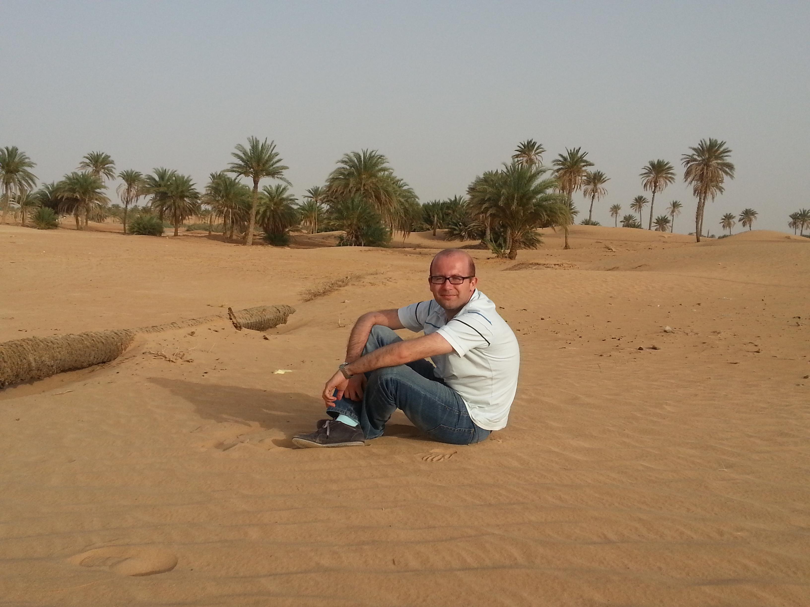 Out in the Sahara desert near Hun, 600km from Tripoli.