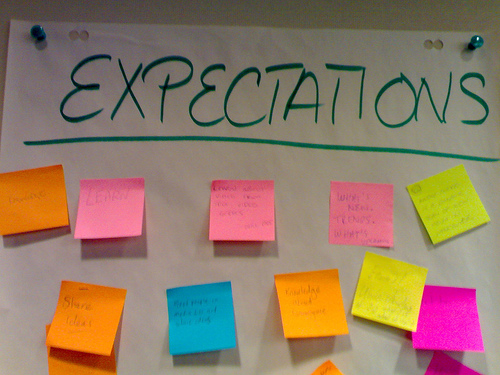 Expectation Board