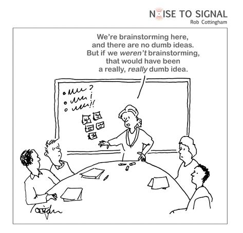 Noise to Signal Brainstorming