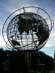 Globe at the United Nations