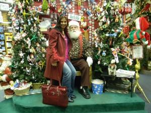Shonali and Santa