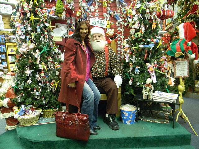 Shonali and Santa