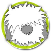 Fresh and Fluffy Natural Dry Dog Shampoo Mascot