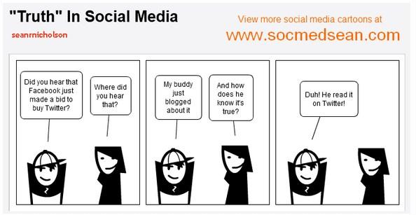 Truth in Social Media
