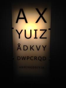eyesight rest stop