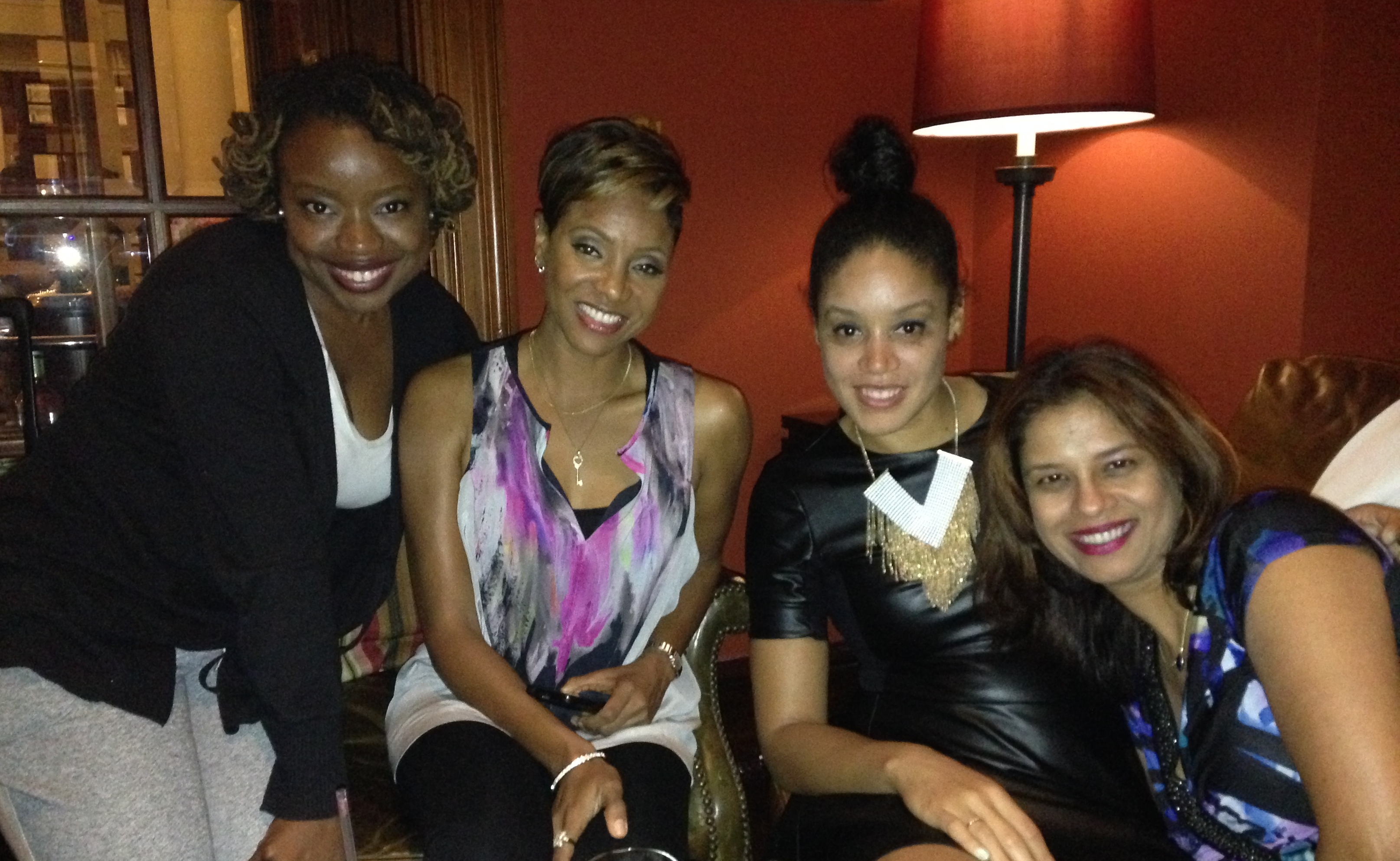 Hanging out with MC Lyte
