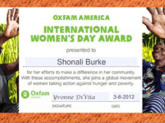 Oxfam America's International Women's Day 2012 campaign (Lipsticking)