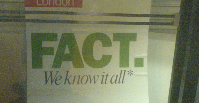 know-it-all poster