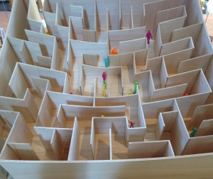 Social PR Strategy Maze