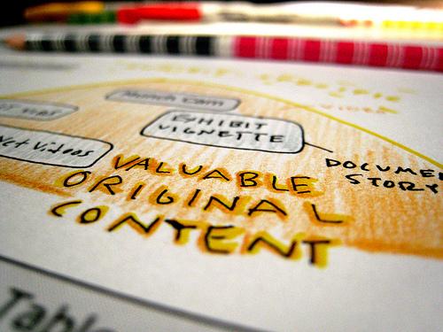 evaluating content