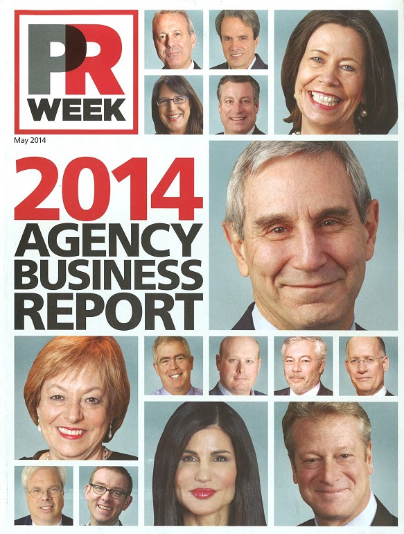PRWeek's 2014 Agency Business Report Cover