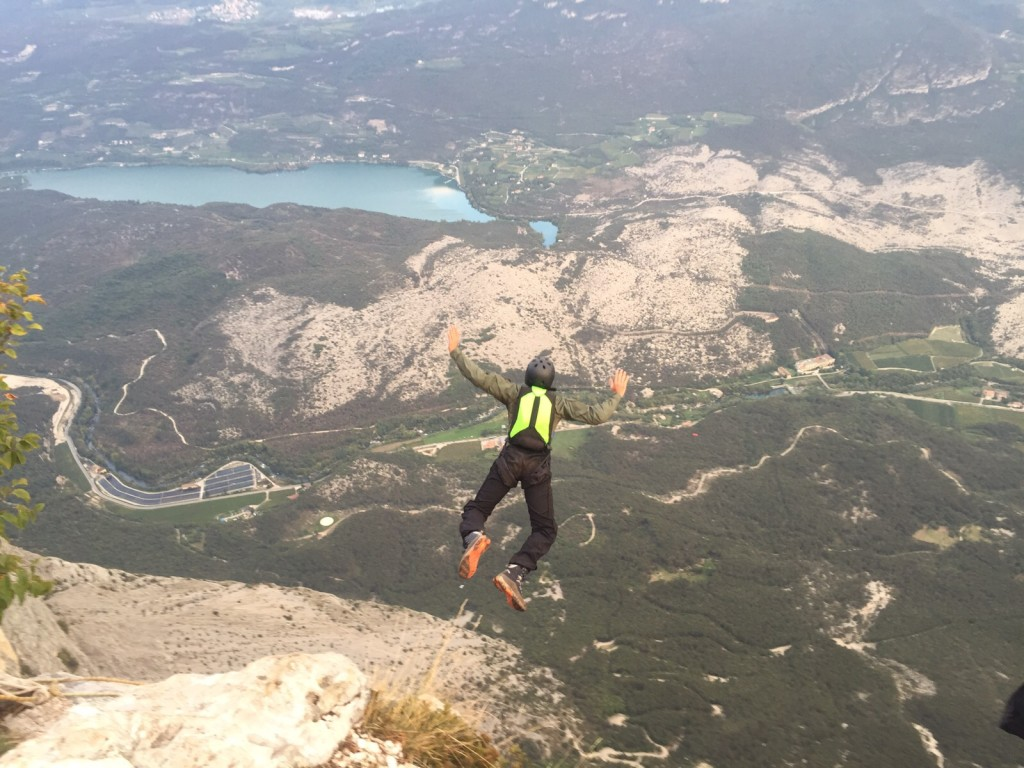 Mehtab base jumping in Croatia