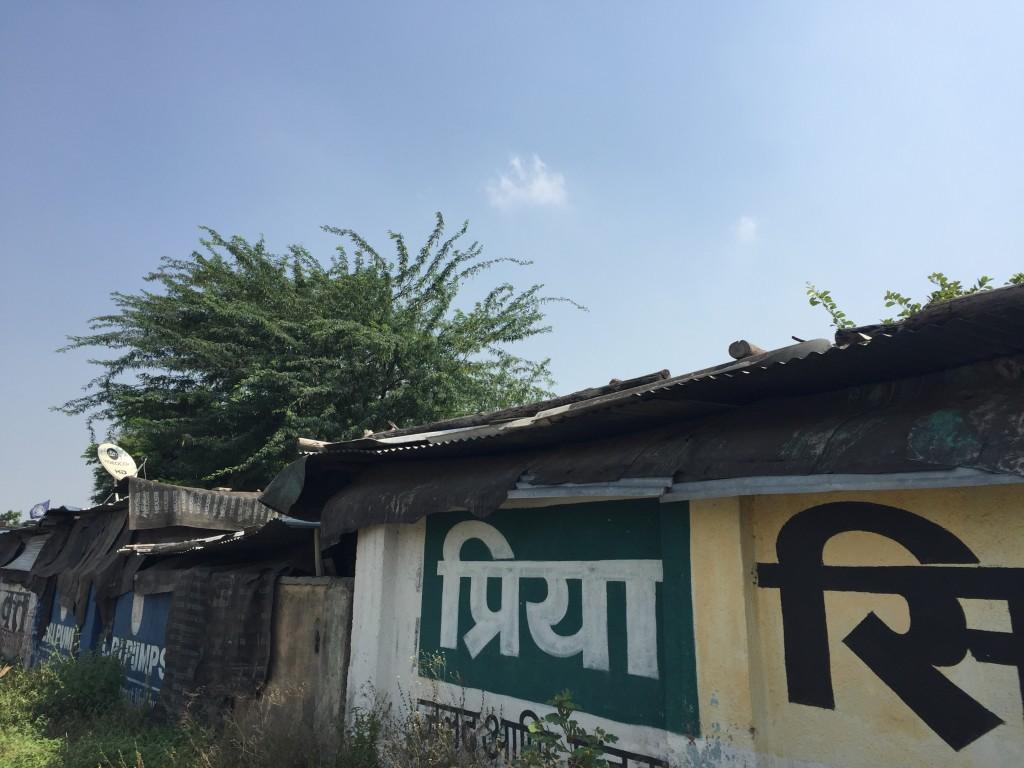 Slum with Satellite Dish