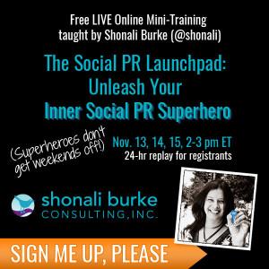 the social pr launchpad