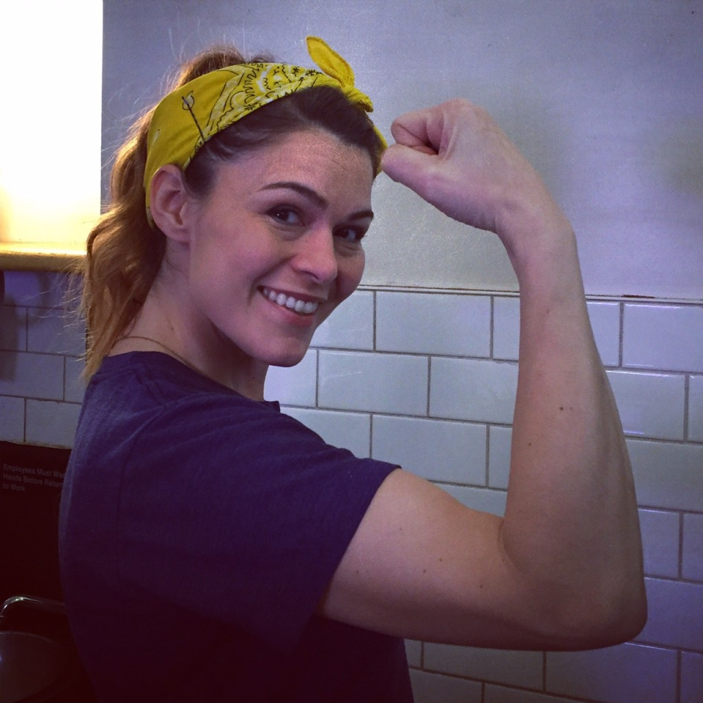 Rosie the RIveter in NYC