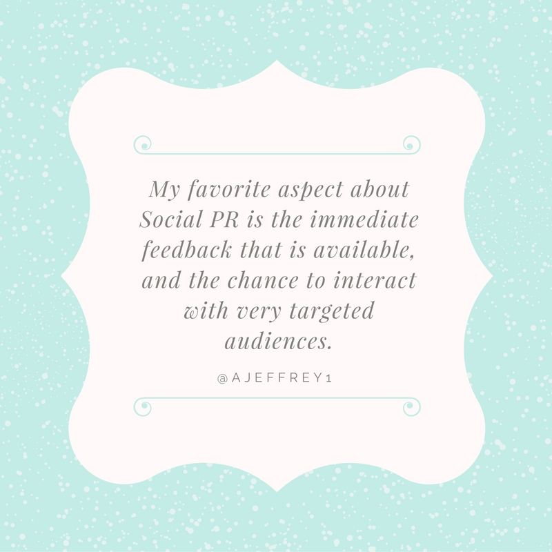 Angela Jeffery Quote for Social PR Spotlight